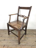 19th Century Welsh Oak Ball & Rail Back Chair (7 of 9)