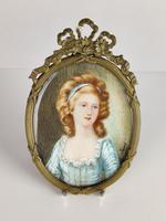 Ivory Miniature of a Lady (2 of 7)