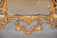Fine 19th Century Chippendale Style Giltwood Mirror (3 of 8)