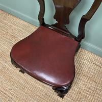 Set of 8 Edwardian Antique Walnut Dining Chairs (9 of 13)