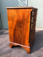 Antique Burr Walnut Chest Drawers (5 of 11)