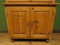 Antique Pine Kitchen Dressser with Glazed Top, Country Dresse. modestly sized (19 of 19)