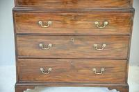 Antique Georgian Mahogany Chest on Chest Tallboy (3 of 7)