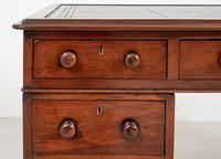Victorian Mahogany Faux Partners Desk (2 of 9)
