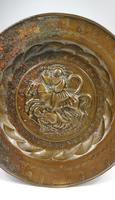 16th Century Alms Dish Depicting George & The Dragon (4 of 4)