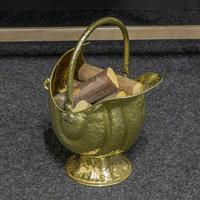 Late Victorian Brass Coal Helmet (13 of 14)