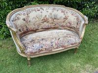 Gilt Needlepoint Sofa (2 of 6)