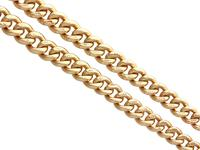 9ct Yellow Gold Double Albert Watch Chain - 1925 (4 of 12)