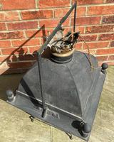 Large Antique Copper & Iron Lantern c.1900 (6 of 6)