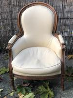 Pair of French Bergere Armchairs (3 of 10)