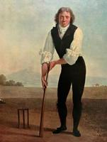 Large Fine Quality Vintage Cricket Cricketing Print - 18thc Georgian Manner (5 of 13)