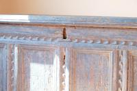 18th Century Painted Pine Coffer (23 of 28)