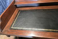 Victorian Gothic Oak Desk (3 of 8)