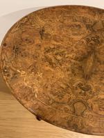 Victorian Walnut Tripod Table (4 of 10)