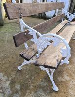19th Century Scottish Garden Bench (3 of 10)