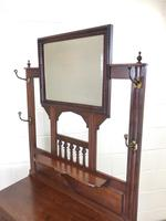 Antique Mahogany Hall Stand (8 of 10)