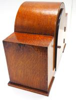 Good Arched Top Art Deco Mantel Clock – Musical Westminster Chiming 8-day Mantle Clock (10 of 11)