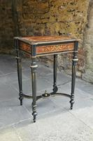 Superb French Inlaid Side Table/Work Table (18 of 18)