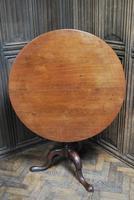 Rare George II Cuban mahogany tripod table (5 of 7)