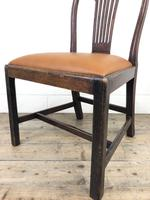 Georgian Chair with Drop-In Leather Seat (9 of 13)