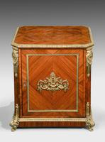 Late 19th Century Elaborate Gilt Bronze Dwarf Cabinet (2 of 5)