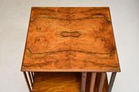 Antique Victorian Walnut Revolving Bookcase (8 of 10)
