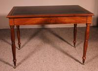 Writing Desk Stamped Deman Early 19th Century In Mahogany (11 of 11)