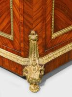Late 19th Century Elaborate Gilt Bronze Dwarf Cabinet (5 of 5)
