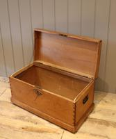 Late Victorian Pine Chest c.1880 (8 of 9)