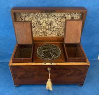George III Mahogany Twin Canister Tea Caddy (15 of 17)