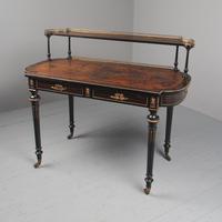 Antique Victorian Coromandel Ladies Writing Desk (2 of 14)