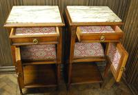 Pair of French Oak Bedside Cabinets (4 of 6)