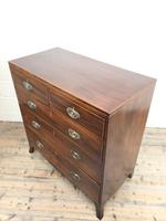 Antique 19th Century Mahogany Chest of Drawers (10 of 14)