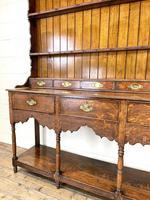 Antique Welsh Oak Pot Board Dresser (5 of 10)