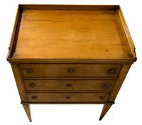 Continental Fruitwood Small Chest of Drawers (4 of 7)