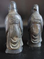 Pair of Late 18th or Early 19th Century Chinese Tomb Figures of Deities (2 of 5)