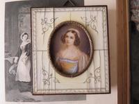 Hand Painted Miniature Portrait Helen Sedlmayer 1813-1898 (4 of 4)