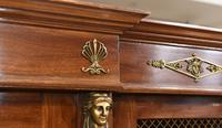 French Antique Bookcase Second Empire Bibliotheque Cabinet (12 of 20)