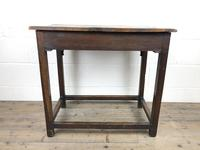 18th Century Oak Side Table (4 of 14)