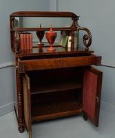 Fine Regency Mahogany Chiffonier Side Cabinet (8 of 18)