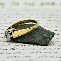 The Vintage 1979 Brilliant Solitaire Diamond Ring (4 of 5)