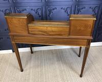 Victorian Inlaid Mahogany Writing Desk (15 of 20)