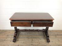 Antique William IV Mahogany Side Table (7 of 16)