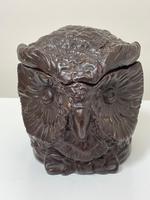 Black Forest Eichwald Earthenware Owl Tobacco Jar (2 of 24)