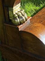 Burr Walnut Console Table (2 of 9)