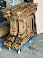 Huge French Bleached Oak Farmhouse Refectory Dining Table (11 of 11)