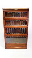 Good Quality Mahogany Globe Wernicke Sectional Glazed Bookcase (9 of 29)