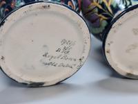 Stunning Pair of Royal Bonn Art Nouveau Vases 'Old Dutch' c.1910 (8 of 14)