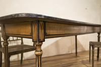 18th Century Faux Quilted Maple Painted Swedish Table (14 of 16)