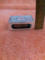 Antique Sterling Silver Heavy Hallmarked  Matchbox Case , 1890 Samuel Walton Smith (4 of 12)